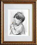 """Child"".. framed"